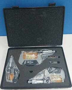 SNAP-ON IMPERIAL 3PCE DIGITAL OUTSIDE MICROMETER SET (MIC103A) Port Melbourne Port Phillip Preview