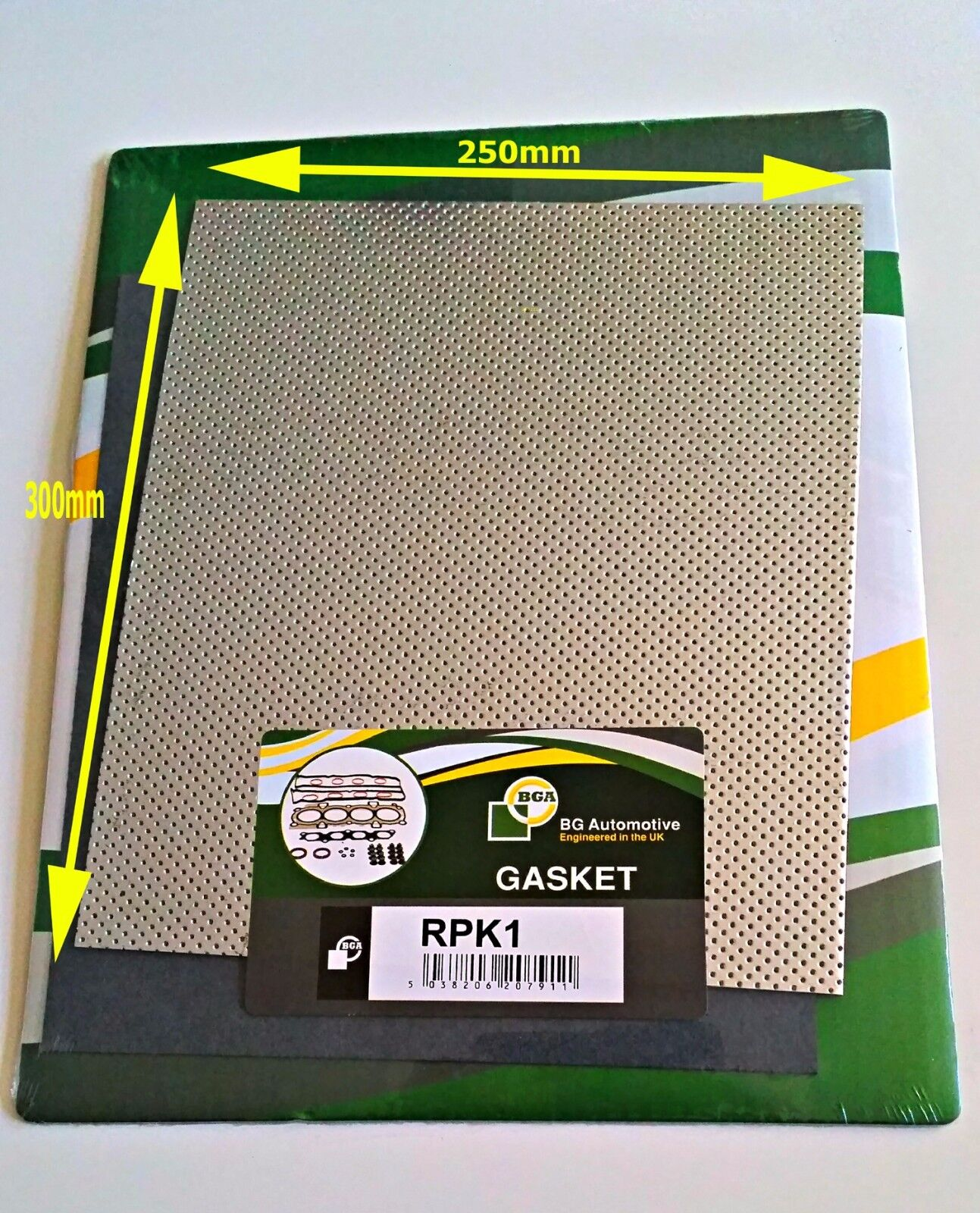 Exhaust Gasket Material Universal Make Your Own Full Metal Gasket 250mm X 300mm