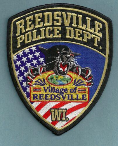 REEDSVILLE WISCONSIN POLICE SHOULDER PATCH