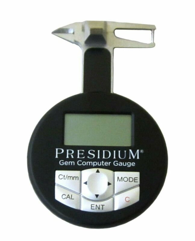 Presidium Gem Computer Gauge Identifies 74 Gemstones - Consistent And Accurate
