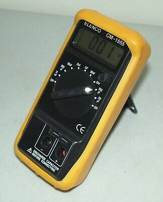 Works Used Elenco Cm-1555 Digital Capacitance Meter Cm1555 Capacitor