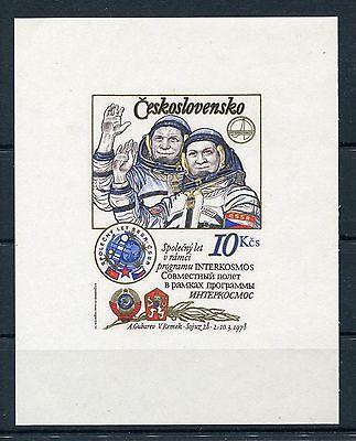 Tschechoslowakei Block 39 B sauber gestempelt / Weltraum .................1/2568