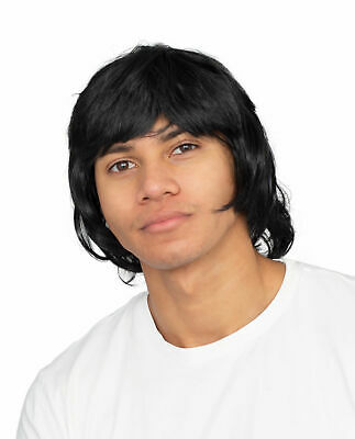 Martial Arts Master Wig Halloween Costume Accessory