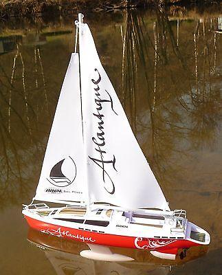 "RC Modell Segel Boot ATLANTIQUE 38cm ""Ferngesteuert 27MHz"" 40250"
