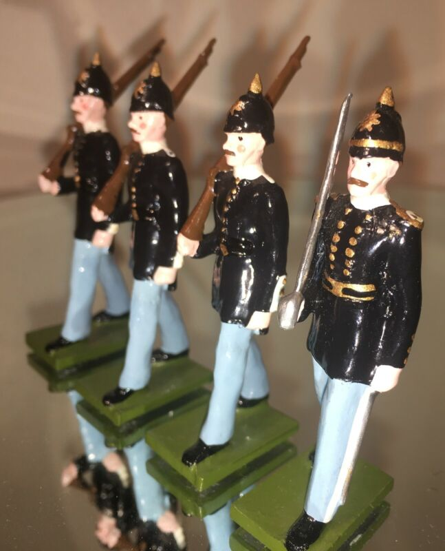 Steadfast: British Royal Marines from their 1900 series: Complete set of 4