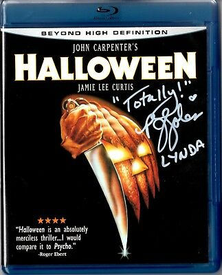 Halloween Blu-Ray signed by P.J. Soles on the cover, COA,