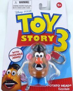 Toy Story Fisher-Price Mr POTATO HEAD Keychain Keyring Potatohead Disney T3 NEW