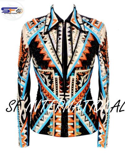 Western Custom Showmanship Jacket, Showmanship, Horsemanship,Sportsmanship