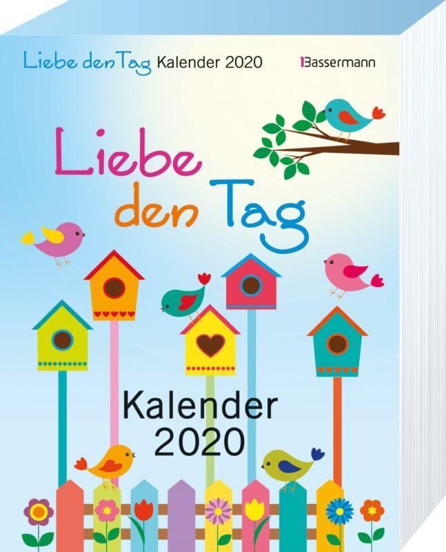 Kalender 2020 Liebe den Tag Kalender 2020 Geschenkband Kalender Lifestyle, Leben
