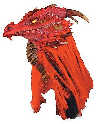 Halloween BRIMSTONE DRAGON PREMIERE Adult Latex Deluxe Mask Costume NEW](Premier Halloween Costumes)
