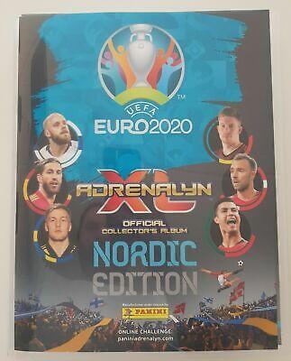 Album raccoglitore card ADRENALYN BINDER EURO 2020 NORDIC EDITION VUOTO
