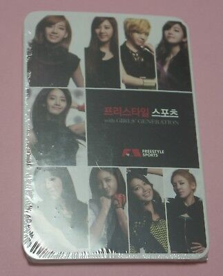 SEALED SNSD FreeStyle Sports Special Package PostCard Taeyeon Yoona Jessica ++