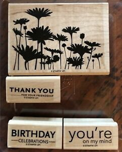 3 Stampin Up Stamp Sets - New & Like New