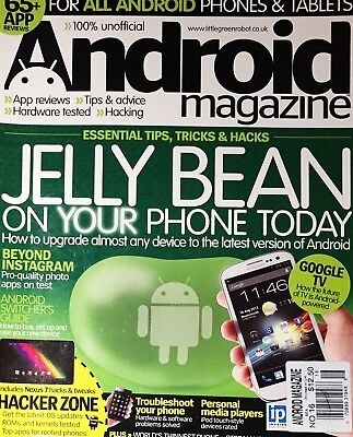 Android Magazine - ANDROID MAGAZINE, HACK YOUR PHONE, ISSUE 16