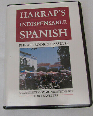 Indispensable: Spanish by Harrap's Staff (1992, Cassette / Paperback)