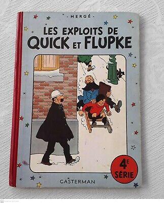Les exploits de QUICK et FLUPKE - 4°série
