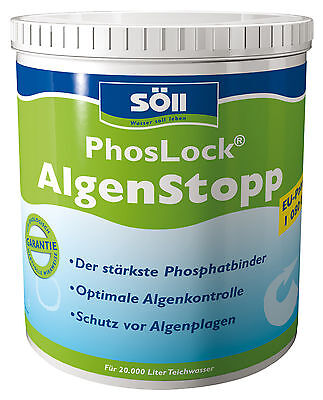 Söll Phoslock Algae Stop 1000 G for 20.000 Litres