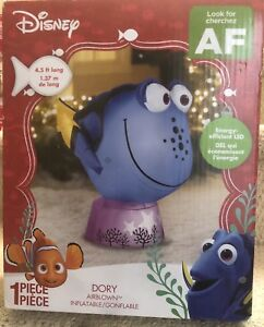 Brand New in Box Disney's Dory outdoor light up inflatable