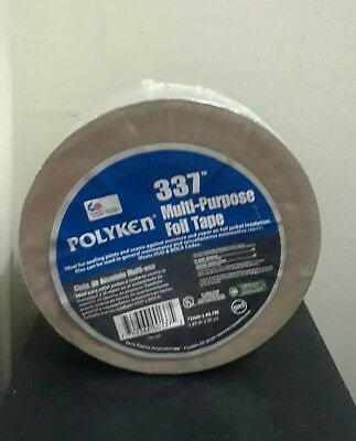POLYKEN 337  MULTI PURPOSE FOIL TAPE