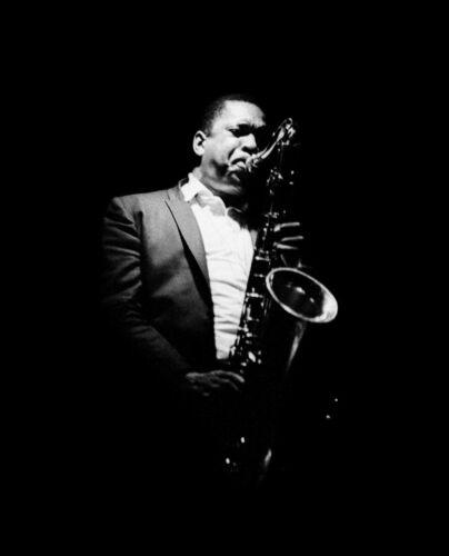 "🎶 Jazz legend JOHN COLTRANE 16x20""  Photo -  Saxophone"