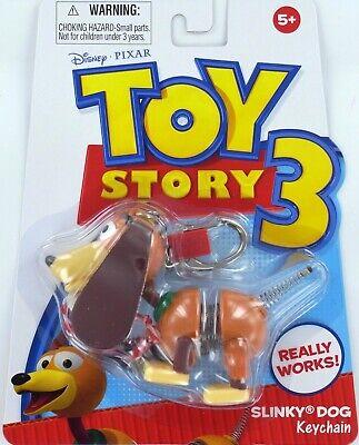 Toy Story SLINKY Dog Keychain Keyring mini miniature Basic Fun Retro Doll NEW - Fun Keychains
