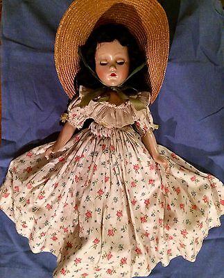1937 Madame Alexander Scarlett O'Hara Composition Doll