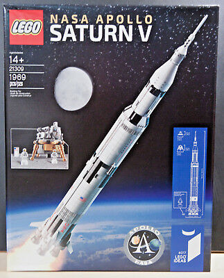 Lego Ideas Nasa Apollo Saturn V  21309  New Sealed Box