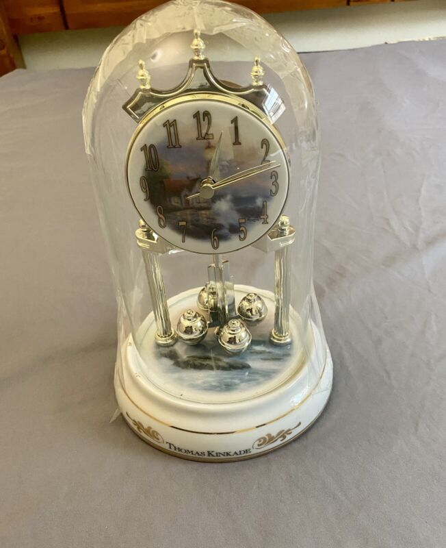 thomas kinkade motion clock