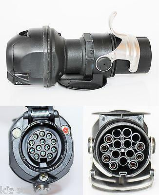 Stecker Spannungsreduzierer LKW 15p 24V  13 p 12V PKW Spannungswandler