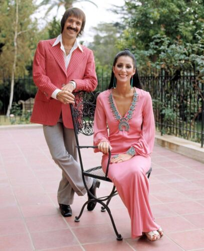 SONNY AND CHER - MUSIC PHOTO #E-63