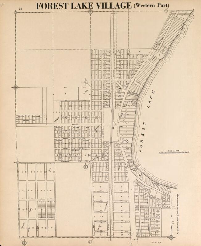 WASHINGTON COUNTY Minnesota Atlas 1938 plat  maps GENEALOGY history DVD P161