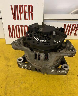 Vauxhall Astra H Corsa D 1.0 1.2 1.4 Petrol Alternator 13222930 ZY 2006 - 2014