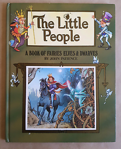 The Little People A Book of Fairies Elves and Dwarves Macquarie Fields Campbelltown Area Preview