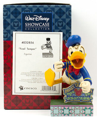 Jim Shore Donald Duck - FOWL TEMPER Donald Duck NEW Jim Shore Disney Figurine 4032856 SCREAM