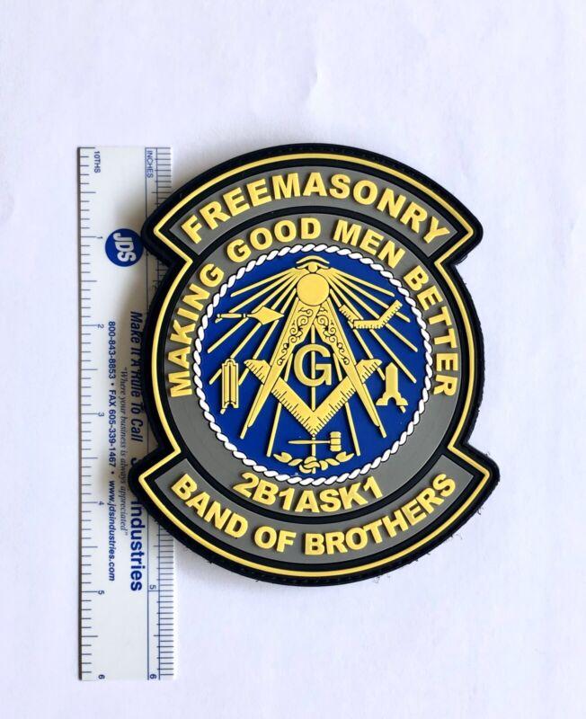 """5"""" Masonic PVC Patch"""