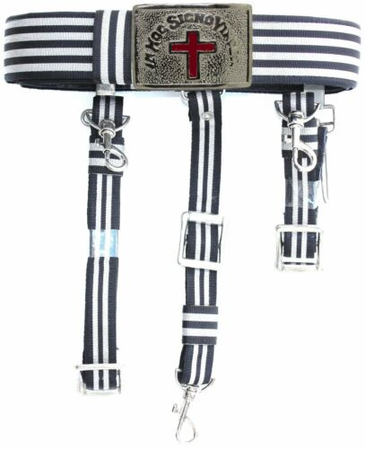 KNIGHTS TEMPLAR Sword Belt & Buckle for Waist Size 50 TOP QUALITY FREE SHIPPING