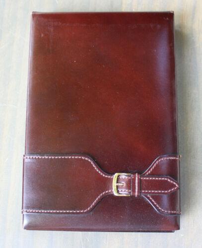 Rolex Wristwatch Watch Brown Leather Notebad Notebook Holder Ref. 71.06.04 Rare