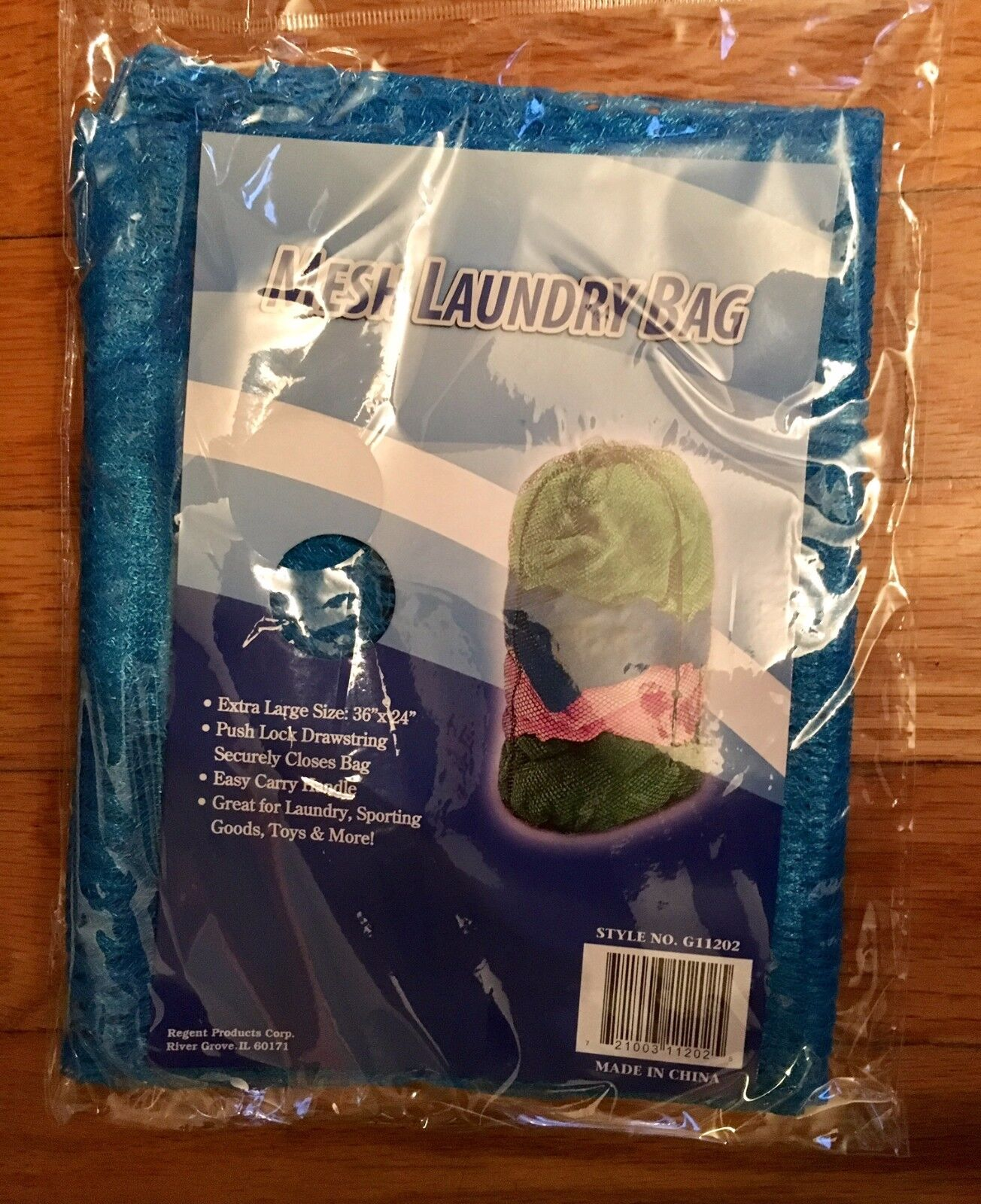"EXTRA LARGE MESH LAUNDRY BAG (24"" X 36"") DRAWSTRING CLOTHES CARRY HANDLE NYLON"