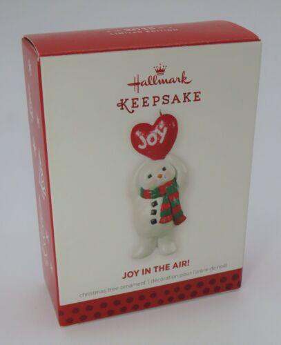 "Hallmark Keepsake Limited Edition ""Joy In The Air"" Ornament * 2013 * NOB"