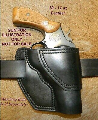 "owb 4/"" barrel iwb ambidextrous revolver BROWN leather S/&W 686 /& 586-357 mag"