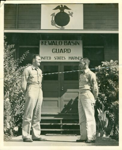 1940s WWII USMC Kewalo Basin Guard Marine