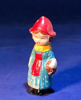 Vintage - Bisque Penny Doll - Frozen Charlotte - Small Dutch Girl - JAPAN