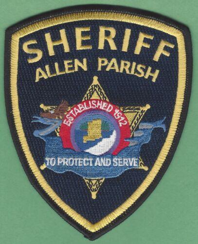 ALLEN PARISH SHERIFF LOUISIANA SHOULDER PATCH