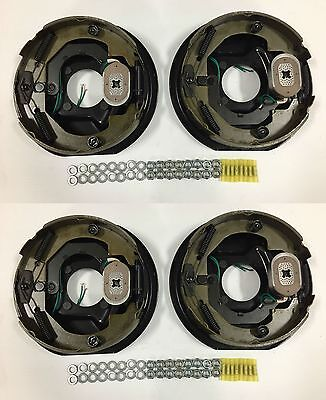 """10"""" x 2-1/4"""" Electric Trailer Brake Assembly - (2) RH & (2) LH - Incl. Hardware"""