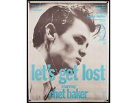 CHET BAKER 01 FILM POSTER LETS GET LOST KEYRINGS-MUGS-PHOTOGRAPHS