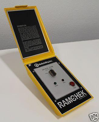 Ramchek Ri Reliability Inc 2102 Series Sram Prom Eprom Tester