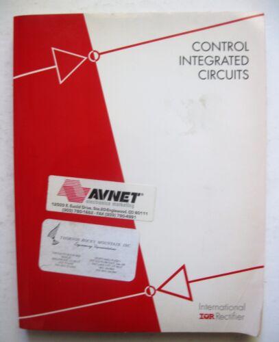 Control Integrated Circuits Designers Manual International Rectifier Electronics