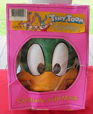 Vintage Small Tiny Toon ELMYRA Vinyl Halloween Costume w/ Mask in Original Box