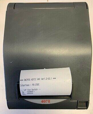 Star Tsp700 Tsp743ii Thermal Receipt Printer Oki 407ii Serial Port