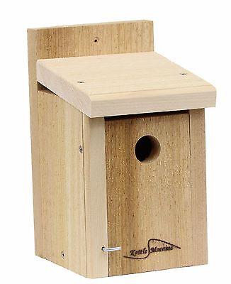 Kettle Moraine Cedar Mounting Nest Box Wren & Chickadee Bird House (Wren Nest Box)